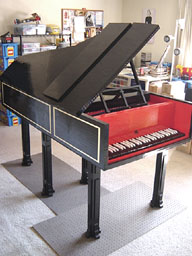LEGO Harpsichord